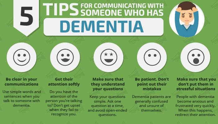 5 tips for communicating with someone who has dementia